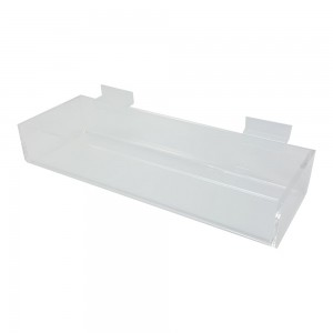 Acrylic Slatwall Display Tray