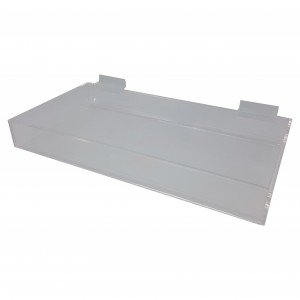 Acrylic Slatwall display tray. Sold as Each.