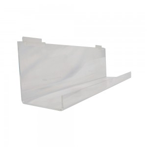 "Slatwall Tray 23"" W W/10 Tilt With Lip 2': 2307"