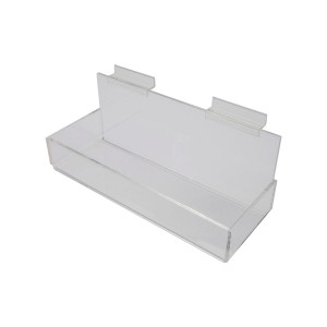 Acrylic Slatwall Display Tray 12""