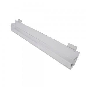 "Acrylic Slatwall Slanted Tray 2'x2""x3.5"""