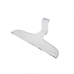 """Acrylic Slatwall Clothing Hanger 16""""x3"""""""
