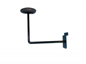 Slatwall Hat Bracket Black: EBL-ML