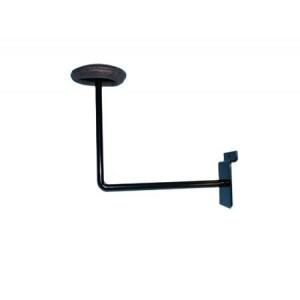 Slatwall Hat Bracket Black: EBL-ML