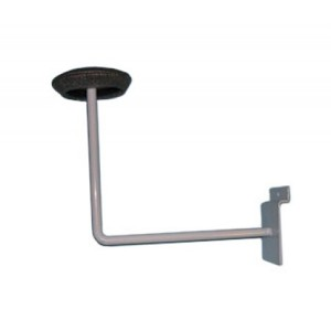 Slatwall Hat Bracket White