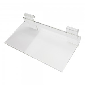 Acrylic Gridwall Shelf  12""