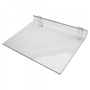 Assorted Acrylic Gridwall Shelves