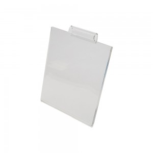 Acrylic Gridwall Sign Holder 7 1/4""