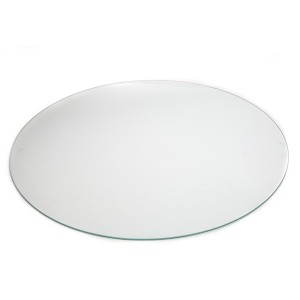 "30"" Tempered Glass Circle"