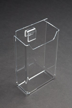 Gridwall Acrylic Brochure Holder No Seams 3