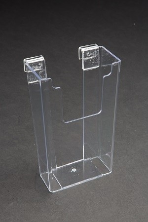 "Acrylic Gridwall Stylized Brochure Holder 8"": 3111E"