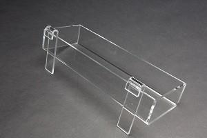 "Acrylic Gridwall Tray 12"" 2"
