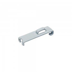"""White Metal Gridwall Picture Hook 3.5"""""""