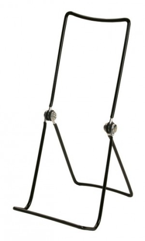 Black Wire Easel 9""