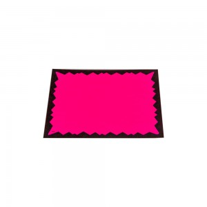 "Fluorescent Paper Cards 3.5"" X 5.5"" 4 Colors. 100 per Pack."