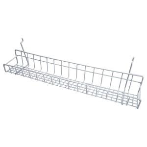 "Black White Gridwall Tray 23"""