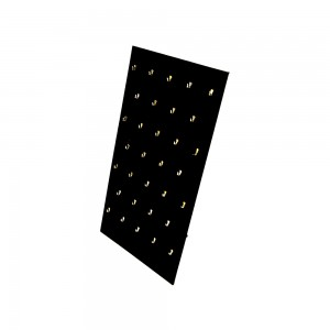Black Velvet Pendant Display Easel 32 Hooks