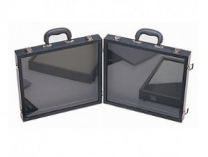 Salesman Travel Case With Two Part Buckle 2