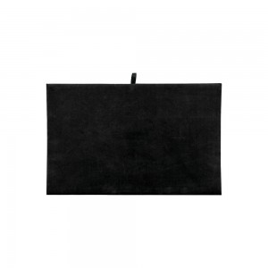 Black Velvet Jewelry Pad 12""