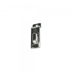 Chrome Slatwall Picture Hook 3.5""