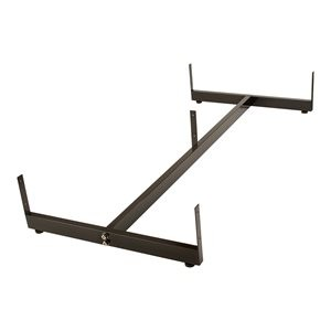 Gridwall Base H Frame Black