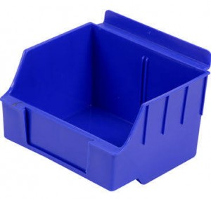 "Slatwall Box 4 1/2"" x 5 1/2"" x 3 1/2"" Big Blue: BOX1-BL"