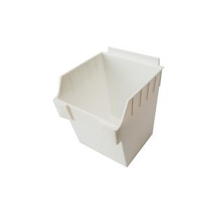 """Slatwall Box 4.5"""" x 5.5"""" x 3.5"""" White: BOX1-WH"""