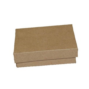 Brown Kraft cotton filled boxes. 3.25x2.25: