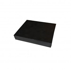 "Box 6"" x 5"" x 1"" Black Swirl: BX2865SB"