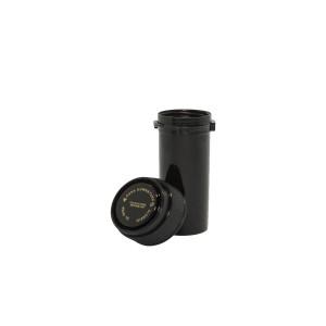 13 Dram Reversible Cap Certified Child Resistant Flower Jars Black
