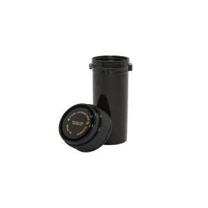 30 Dram Reversible Cap Certified Child Resistant Flower Jars Black