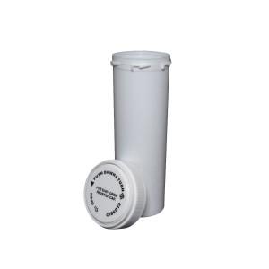 60 Dram Reversible Cap Certified Child Resistant Flower Jars White