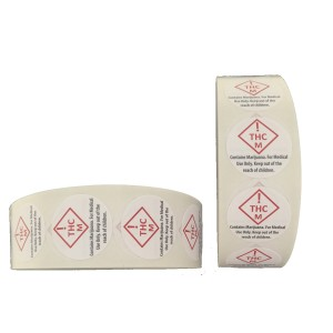 Colorado Compliant MED Labels 1,000 per roll