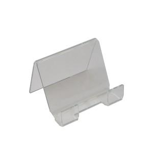 """Easel Clear Acrylic 3.75"""" x 3"""" x 1"""""""