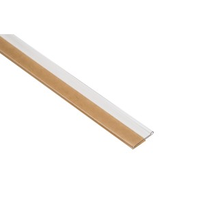 Front Mount Clear Scan Label Strips With Adhesive