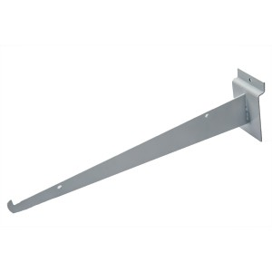 "Slatwall Shelf Bracket 14"" White"