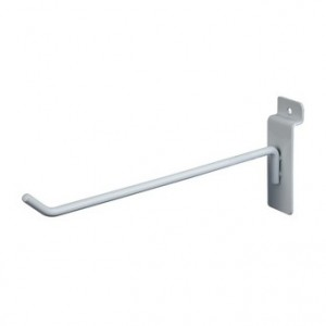 "Slat Hook White 8"" 96"