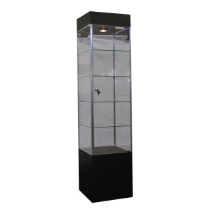 "Tower Case 16"" x 16"" x 76"" Black 1"