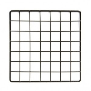 "Grid square 10"" black."