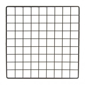 "Grid Square 14"" Black"