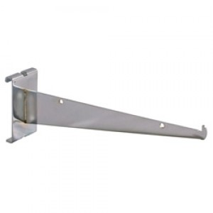 "Grid Shelf Bracket 12"" Chrome: GW-12KB"