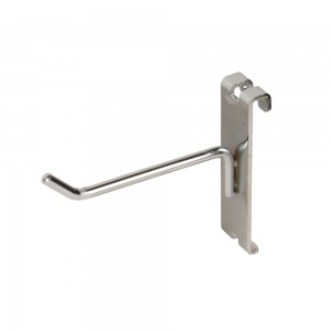 "Grid Hook 4"" Chrome: GW-H4"