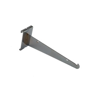 "Grid Shelf Bracket 10"" Chrome: GW-10KB"