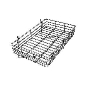 Grid Basket 24 x 15 x 4.5 Chrome