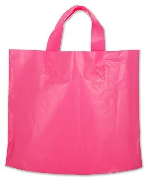 Plastic Shopping Bags Assorted