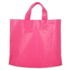 Bag 12 x 10 x 4 Hot Pink