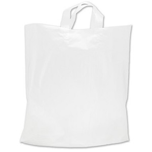 Bag 16 x 15 x 4 Clear Frost