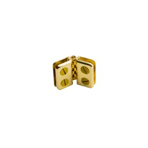Connector Hinge Brass
