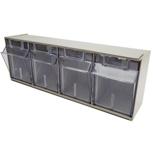 Assorted Bin Tilt Storage