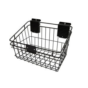 "Slatwall Basket 8"" x 12"" Basket: HSB0812B"